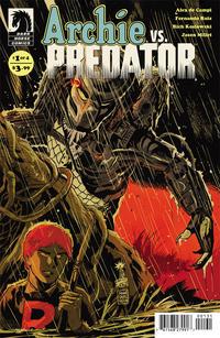 Cover Thumbnail for Archie vs. Predator (Dark Horse, 2015 series) #1 [Francesco Francavilla]