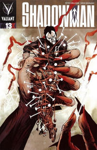 Cover Thumbnail for Shadowman (Valiant Entertainment, 2012 series) #13X