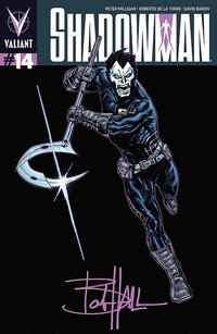 Cover Thumbnail for Shadowman (Valiant Entertainment, 2012 series) #14 [Cover B - Bob Hall]