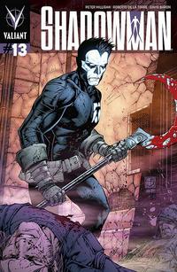 Cover Thumbnail for Shadowman (Valiant Entertainment, 2012 series) #13 [Cover D - Shane Davis]