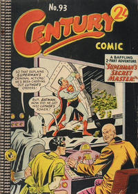 Cover Thumbnail for Century Comic (K. G. Murray, 1961 series) #93