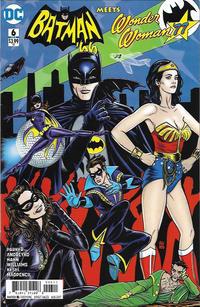 Cover Thumbnail for Batman '66 Meets Wonder Woman '77 (DC, 2017 series) #6