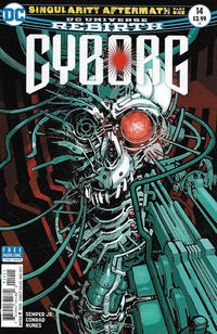 Cover Thumbnail for Cyborg (DC, 2016 series) #14 [Eric Canete Cover]