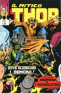 Cover Thumbnail for Il Mitico Thor (Editoriale Corno, 1971 series) #62
