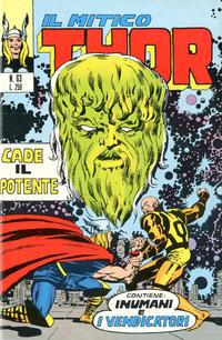 Cover Thumbnail for Il Mitico Thor (Editoriale Corno, 1971 series) #63