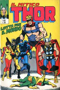 Cover Thumbnail for Il Mitico Thor (Editoriale Corno, 1971 series) #84