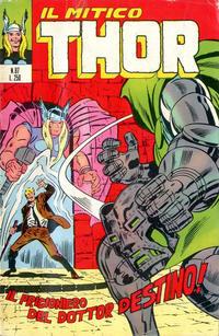 Cover Thumbnail for Il Mitico Thor (Editoriale Corno, 1971 series) #87