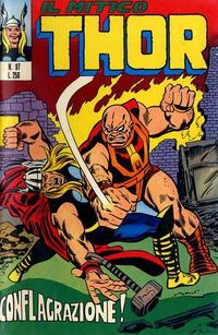 Cover Thumbnail for Il Mitico Thor (Editoriale Corno, 1971 series) #97