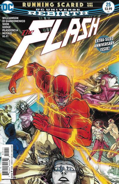 Cover for The Flash (DC, 2016 series) #25 [Carmine Di Giandomenico Cover]
