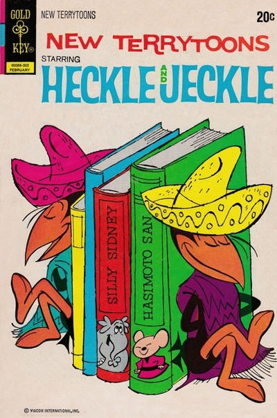 Cover for New Terrytoons (Western, 1962 series) #19