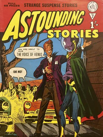 Cover for Astounding Stories (Alan Class, 1966 series) #7