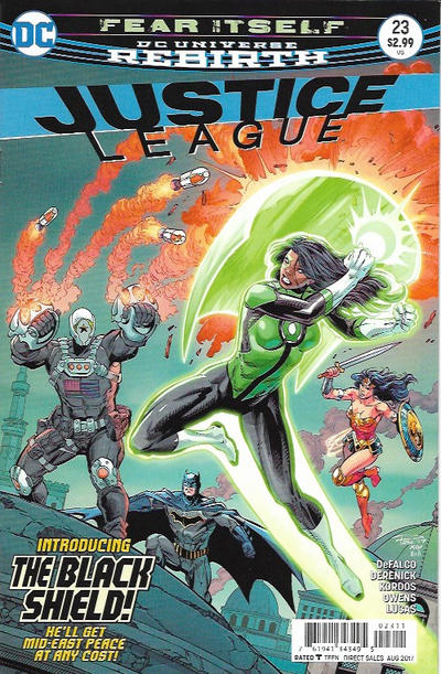 Cover for Justice League (DC, 2016 series) #23