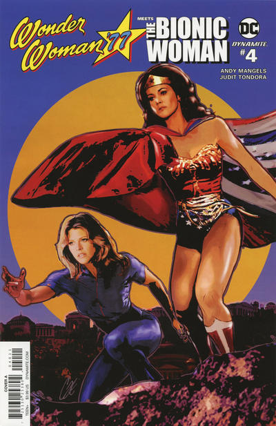 Cover for Wonder Woman '77 Meets the Bionic Woman (Dynamite Entertainment, 2016 series) #4 [Cover A]
