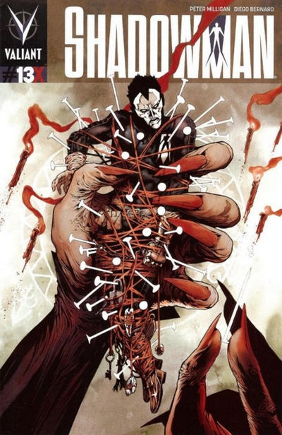 Cover for Shadowman (Valiant Entertainment, 2012 series) #13X