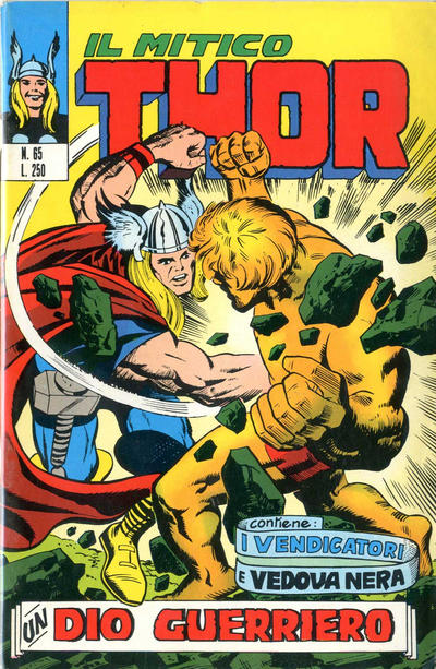 Cover for Il Mitico Thor (Editoriale Corno, 1971 series) #65