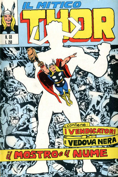 Cover for Il Mitico Thor (Editoriale Corno, 1971 series) #68