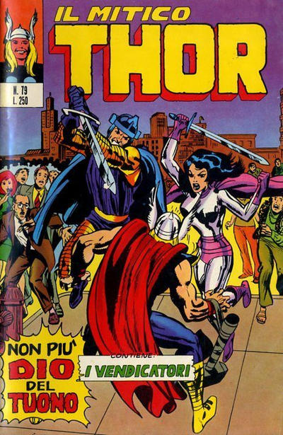 Cover for Il Mitico Thor (Editoriale Corno, 1971 series) #79