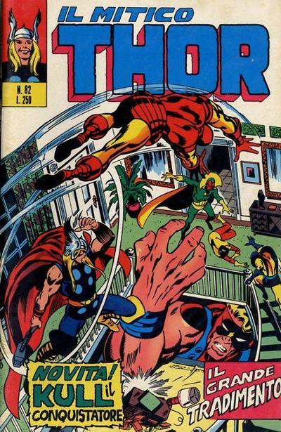 Cover for Il Mitico Thor (Editoriale Corno, 1971 series) #82