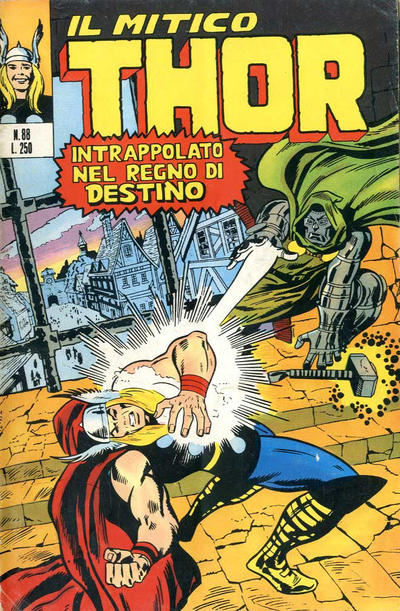 Cover for Il Mitico Thor (Editoriale Corno, 1971 series) #88
