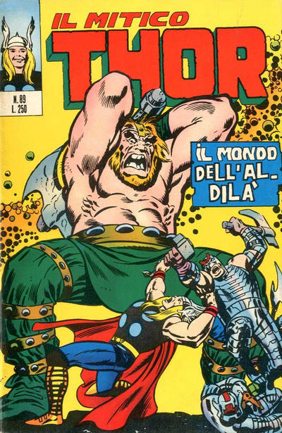 Cover for Il Mitico Thor (Editoriale Corno, 1971 series) #89