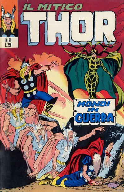 Cover for Il Mitico Thor (Editoriale Corno, 1971 series) #91