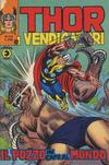 Cover for Thor e i Vendicatori (Editoriale Corno, 1975 series) #102
