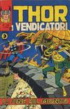 Cover for Thor e i Vendicatori (Editoriale Corno, 1975 series) #105