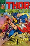 Cover for Thor e i Vendicatori (Editoriale Corno, 1975 series) #106