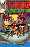 Cover for Thor e i Vendicatori (Editoriale Corno, 1975 series) #115