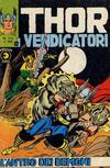 Cover for Thor e i Vendicatori (Editoriale Corno, 1975 series) #117