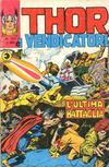 Cover for Thor e i Vendicatori (Editoriale Corno, 1975 series) #121