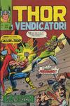Cover for Thor e i Vendicatori (Editoriale Corno, 1975 series) #157