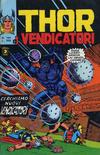 Cover for Thor e i Vendicatori (Editoriale Corno, 1975 series) #163