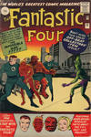 Cover for Fantastic Four (Marvel, 1961 series) #11 [British Price Variant]