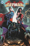 Cover Thumbnail for Batman (2017 series) #4 [Eddy Barrows-Jubiläumscover]