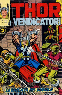 Cover Thumbnail for Thor e i Vendicatori (Editoriale Corno, 1975 series) #123