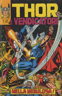 Cover Thumbnail for Thor e i Vendicatori (Editoriale Corno, 1975 series) #124