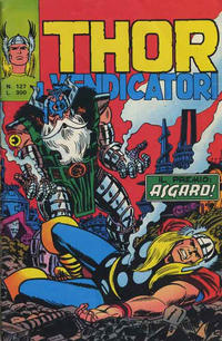 Cover Thumbnail for Thor e i Vendicatori (Editoriale Corno, 1975 series) #127