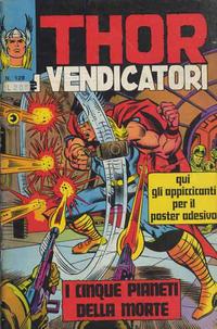 Cover Thumbnail for Thor e i Vendicatori (Editoriale Corno, 1975 series) #128