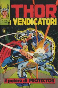 Cover Thumbnail for Thor e i Vendicatori (Editoriale Corno, 1975 series) #129
