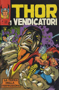 Cover Thumbnail for Thor e i Vendicatori (Editoriale Corno, 1975 series) #130
