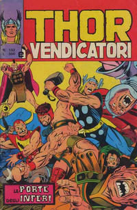 Cover Thumbnail for Thor e i Vendicatori (Editoriale Corno, 1975 series) #132