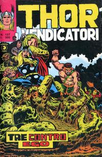 Cover Thumbnail for Thor e i Vendicatori (Editoriale Corno, 1975 series) #137
