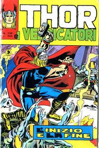 Cover Thumbnail for Thor e i Vendicatori (Editoriale Corno, 1975 series) #138