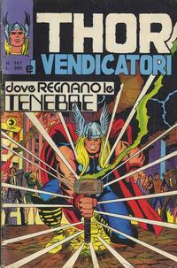 Cover Thumbnail for Thor e i Vendicatori (Editoriale Corno, 1975 series) #147