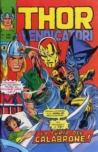 Cover Thumbnail for Thor e i Vendicatori (Editoriale Corno, 1975 series) #165