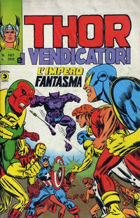Cover Thumbnail for Thor e i Vendicatori (Editoriale Corno, 1975 series) #167