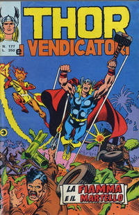 Cover Thumbnail for Thor e i Vendicatori (Editoriale Corno, 1975 series) #177