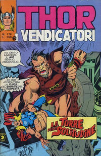 Cover Thumbnail for Thor e i Vendicatori (Editoriale Corno, 1975 series) #178
