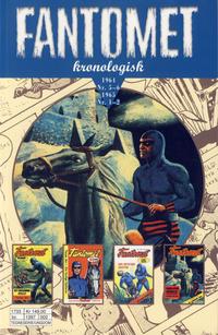 Cover Thumbnail for Fantomet kronologisk (Hjemmet / Egmont, 2017 series) #2 - 1964 Nr. 5-6 1965 Nr. 1-2